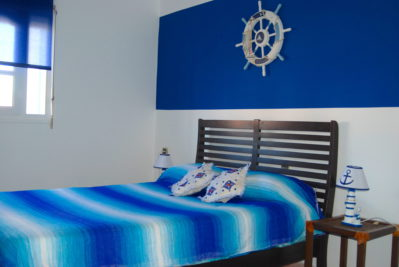 bleue ocean double bedroom