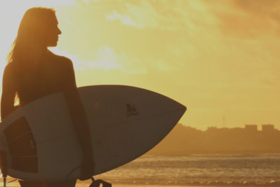 A story of a surfer girl