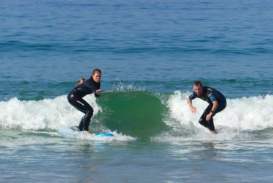 surf lesson beginners in morocco